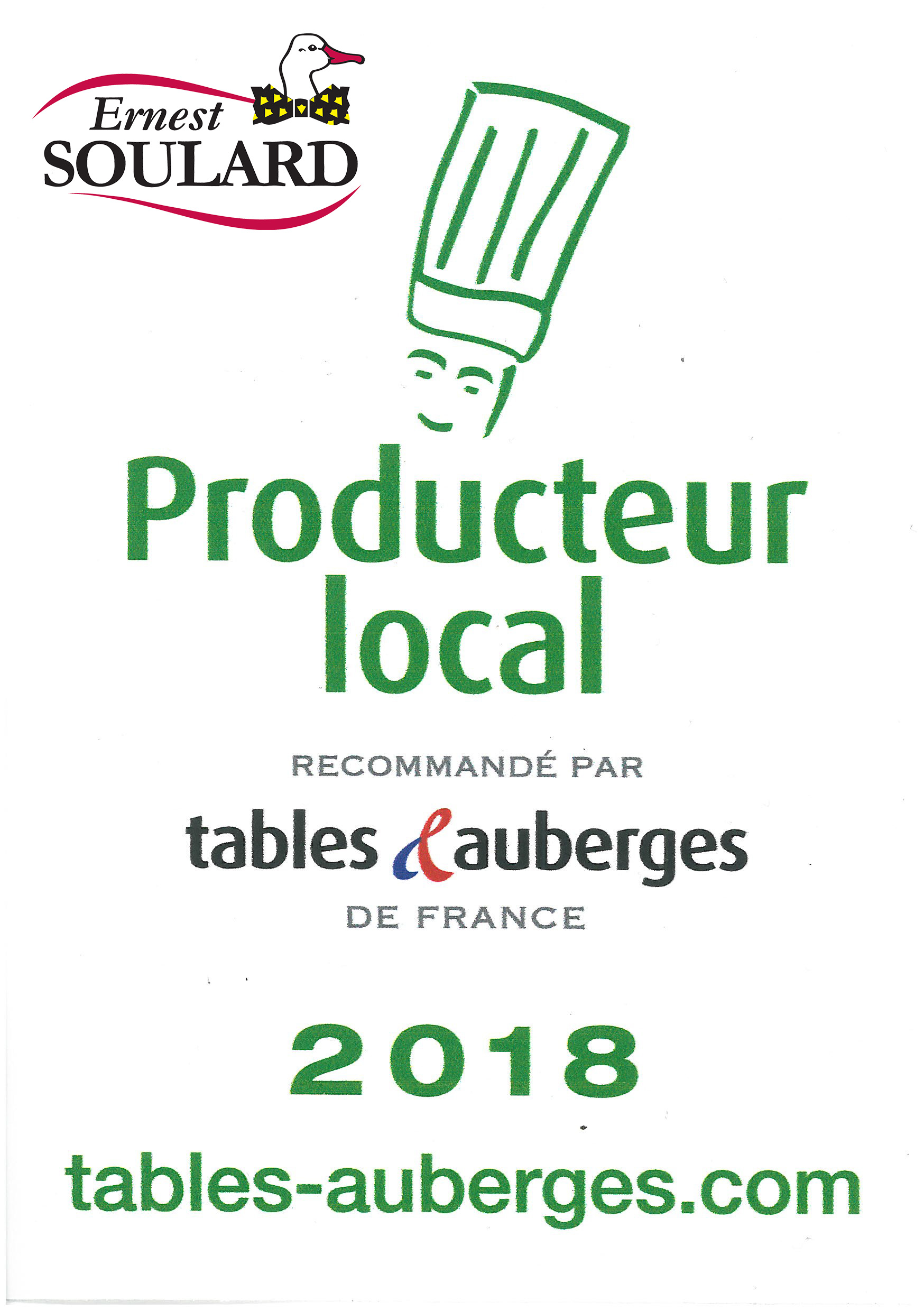 Tables & Auberges 2018
